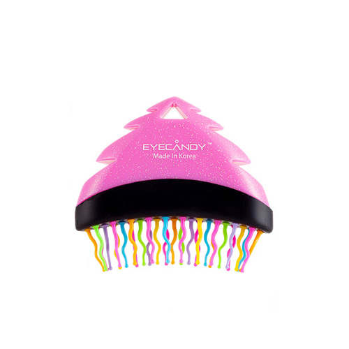 EYECANDY Rainbow S-TREE Brush Pink