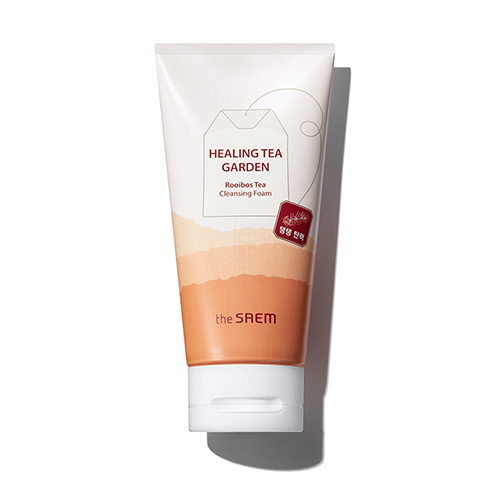 the SAEM Healing Tea Garden Rooibos Tea Cleansing Foam 150ml
