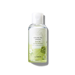 the SAEM Healing Tea Garden Green Tea Lip & Eye Remover 150ml